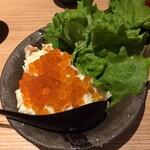TOWA 麦酒と日本酒と蕎麦 - いくらポテトサラダ