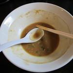 麺や 高野 - 豚骨魚介醤油らぁ麺 ごちそうさまでした。