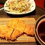 味里 - 長寿豚のヒレかつランチ ¥1000