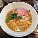 金彩 - 限定 冬牛蒡のポタージュらぁ麺
