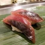 寿司 魚がし日本一 - 赤サバ。