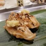 寿司 魚がし日本一 - 焼きゲソ。