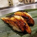 寿司 魚がし日本一 - ウナギ。