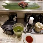 寿司 魚がし日本一 - スタート風景。