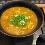 麺座丹波橋 - 黄そばカレー490円