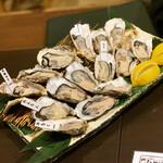 牡蠣・海鮮居酒屋 蔵よし - 生牡蠣5種類
