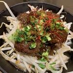 牡蠣・海鮮居酒屋 蔵よし - やわらかハラミの鉄板焼き