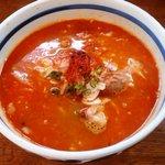 和風つけ麺 轍 - アーモンド坦々麺