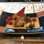割烹 いま村 - お造り/ヨコワ・車海老・ウニ