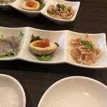 麺ダイニング 福 - 三種盛りあわせ