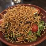 麺ダイニング 福 - パリパリサラダ
