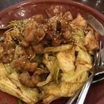 麺ダイニング 福 - モツ炒め