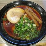 121866286 - 紅醤油ラーメン(700円)