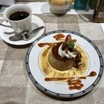 アザミ - カスタードプリン&コーヒー