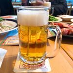千葉ビール園 - 黒ラベルでカンパ~イ!
