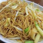 12187565 - 「上海ヤキソバ」(アップ):醤油とオイスターソースを効かせ、香ばしい♪