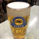 一福 - 生ビール