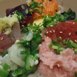 旬食・おそば なごみ - 海鮮丼