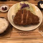 Butanikusemmontentonkatsunori - 上ロースとんかつ定食