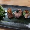 郷の鮨 たむら - 料理写真:肉寿司3貫