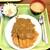 好養軒 - かつカレー定食(840円)