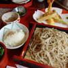 そば庵 みやなが - 料理写真:天ぷらざる蕎麦:1,300円