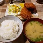 てっ平 - 1/2ヒレカツ定食