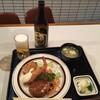 キッチンキクヤ - 料理写真:キクヤランチA1,000円ライス抜き、瓶ビール550円