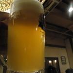 蟹問屋 キリンビール園 - このビール園オリジナルの麦酒