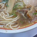 らーめん藤 - 麺とスープ+油かす