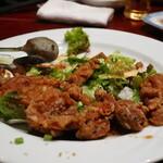 健康中華庵 青蓮 - さっぱり葱たれの油淋鶏