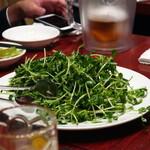 健康中華庵 青蓮 - 青菜のあっさり炒め