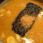 三田製麺所 - ドロドロ