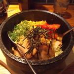 麺や 老虎 - ハーフ石焼チャーハン