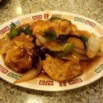 スピリッツ - 肉のピリ辛炒め