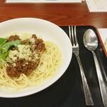 スパ・リブール ヨコハマ レストラン - 『大豆ミートスパゲティ』800円