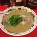 天下一品 - こってり並のスープ大