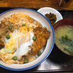 坂本屋 - カツ丼