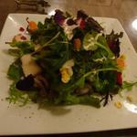 ビストロ・ポワソン・ルージュ - 春のサラダに変っていました。