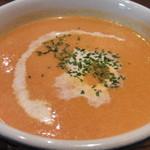 オーガニックスープ・コロンボ - スープのアップ
