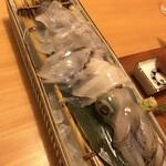 博多 表邸 - イカの活き造り