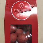 ストロベリーハンティング - フリーズドライのいちごチョコ(うっかり開けてしまいました)