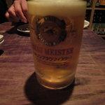 きまじめ - 生ビール(キリン)