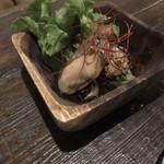 grilled beef winebar zuiji - 牡蠣とかぶのマリネ