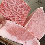 天平 - 枝肉から仕入れるから肉質抜群!