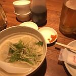 テムジン - 水餃子 辛い柚子胡椒で食べました