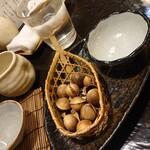 舞扇 - あら塩煎り銀杏(藤久郎)