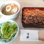 雅山GARDEN - 焼肉重と冷麺が食べれるBセット