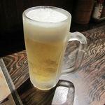 ふくろう - 生ビール