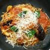 洋麺茶屋 牧家 - 料理写真:なすとバジルのトマトソース